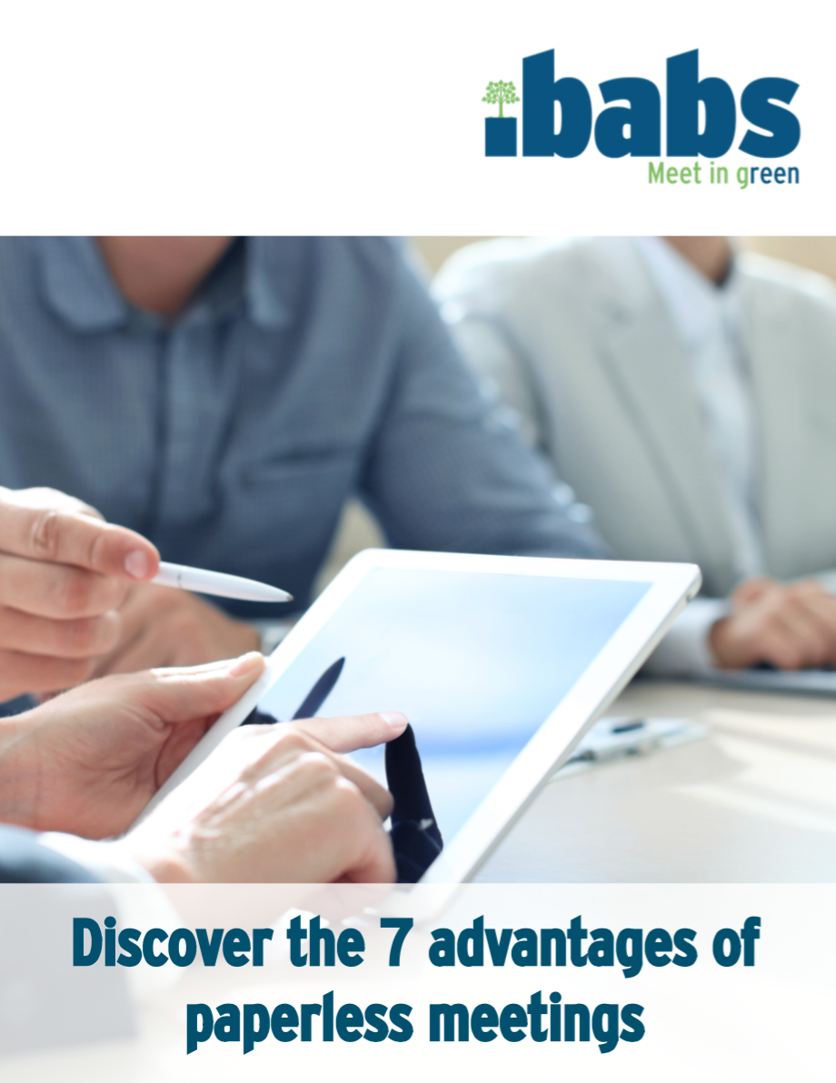 7 advantages of paperless meetings